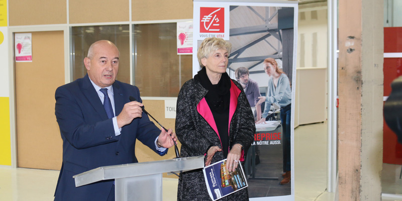 Inauguration Espace Caisse d'Epargne MAME