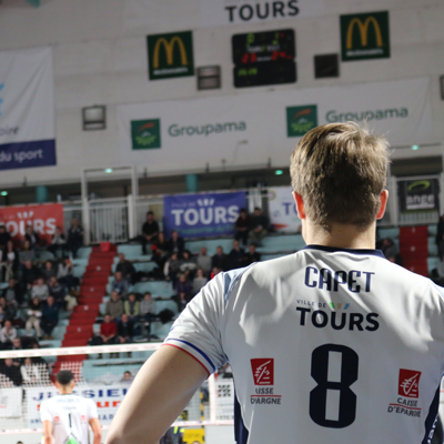 Joueurs Tours Volley Ball